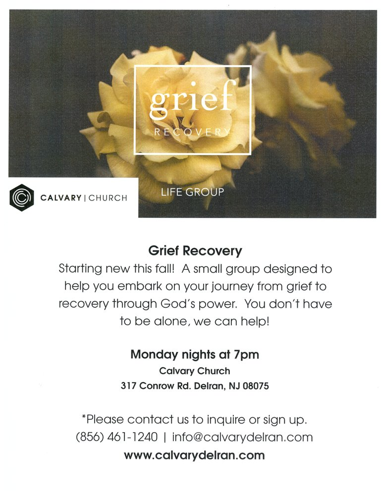 Grief Recovery with Calvary Church
